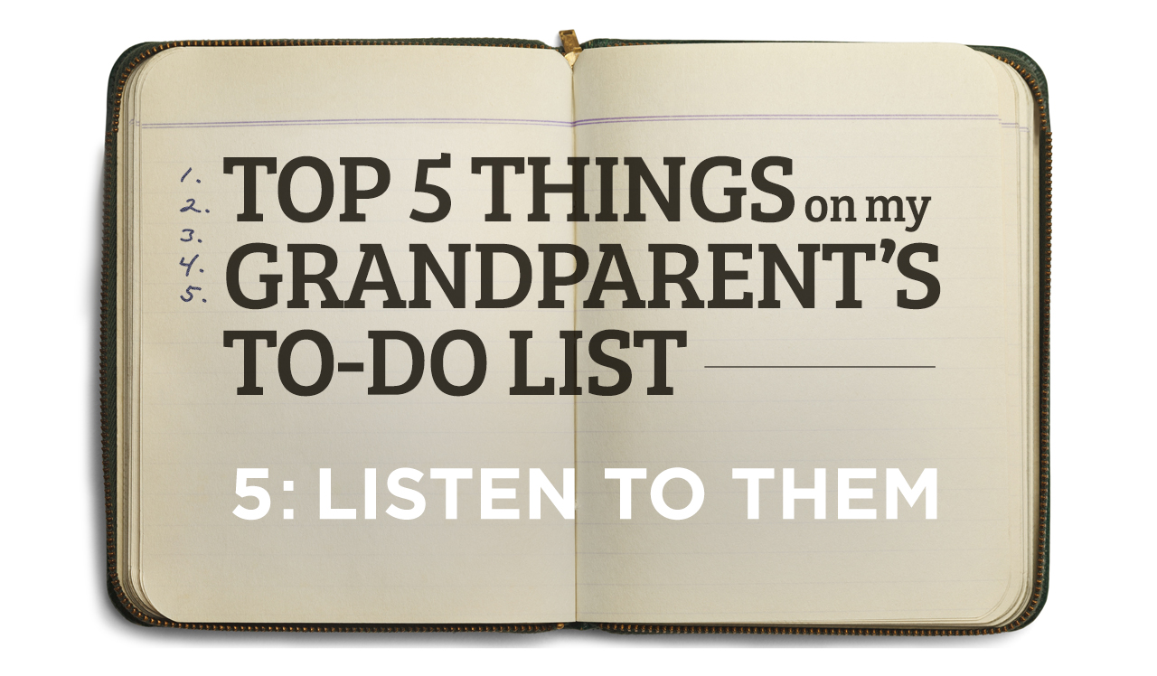 Top Five Grandparents' To-Do List